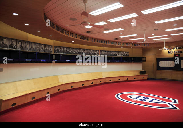 Changing In Locker Room Montreal