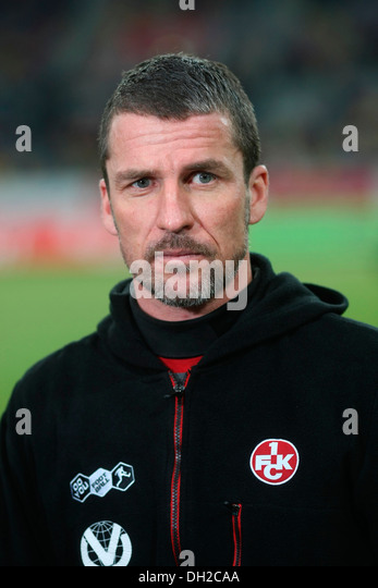 Marco kurz head coach of the second ision football team 1 fc