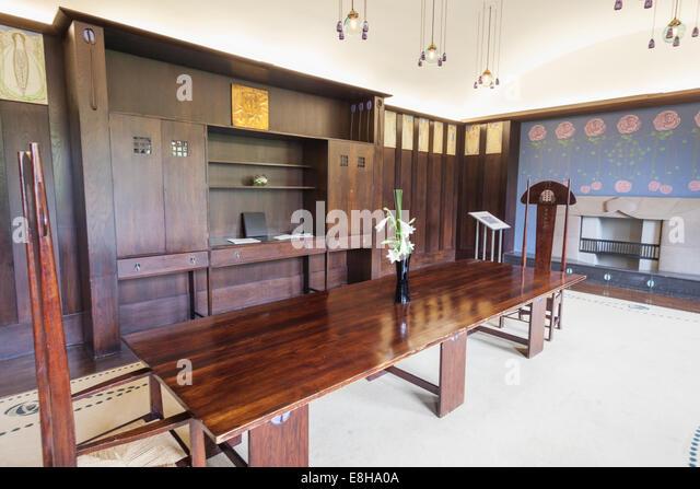 Mackintosh chair stock photos mackintosh chair stock images alamy - Dining room furniture glasgow ...