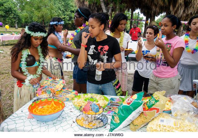 Luau Polynesian Catering Service Miami Fort Lauderdale: Luau Food Stock Photos & Luau Food Stock Images