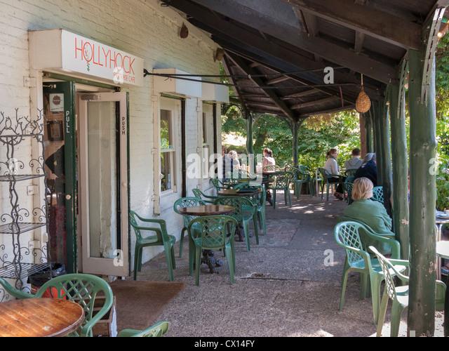 Hollyhock Cafe Terrace Gardens