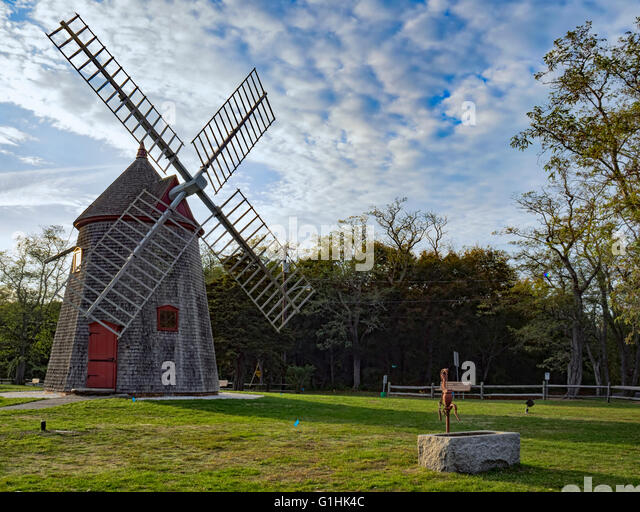 Marvelous Windmill Cape Cod Part - 5: Eastham Windmill Cape Cod Massachusetts, Oldest Cape Cod Windmill  Originally Built In Plymouth MA 1680