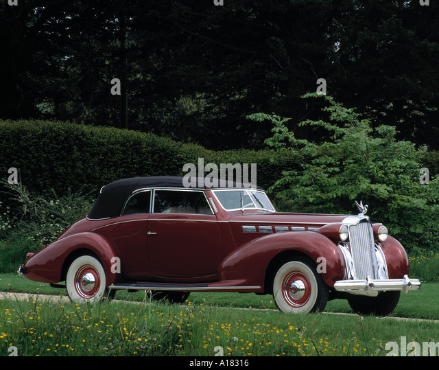 Packard Roadster Stock Photos & Packard Roadster Stock