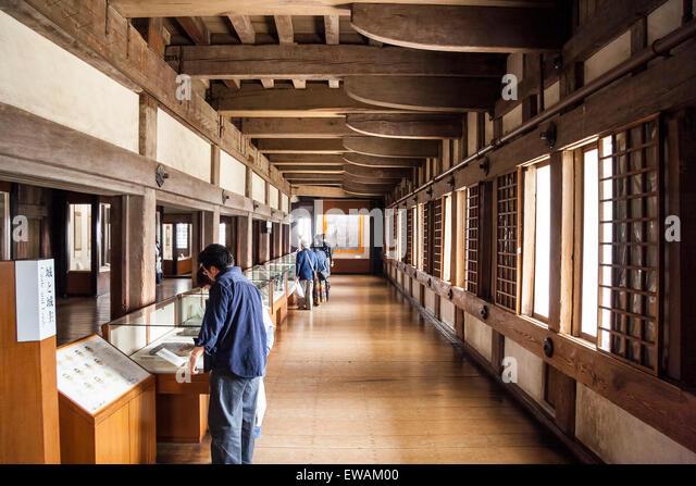 japan castle interior stock photos & japan castle interior stock