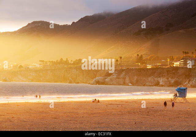 Sunset Beach (CA) United States  City new picture : Beach Lifeguard Surf Tower Stock Photos & Beach Lifeguard Surf Tower ...