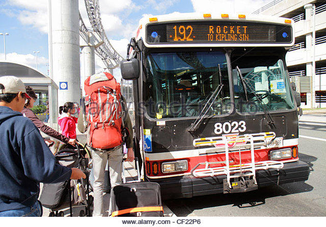 how to go pearson airport by ttc