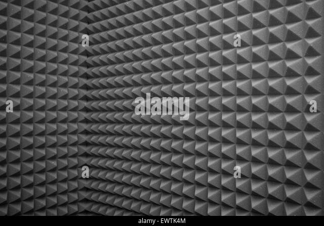 abstract gray background or soundproof wall texture stock image