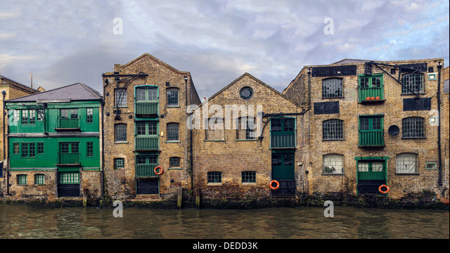 Old Warehouse In Docklands London Stock Photos Old Warehouse In