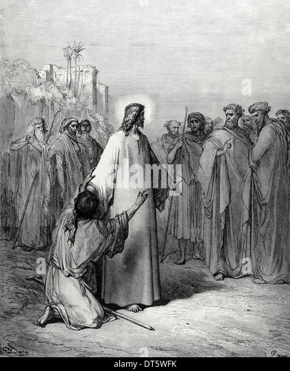 gospel of matthew and jesus heals Jesus heals a leper (matthew 8:1-6) matthew mentions that jesus was followed by great crowds and no doubt each of them had a story to tell about what they thought of jesus and perhaps some of them had received a great blessing from him.