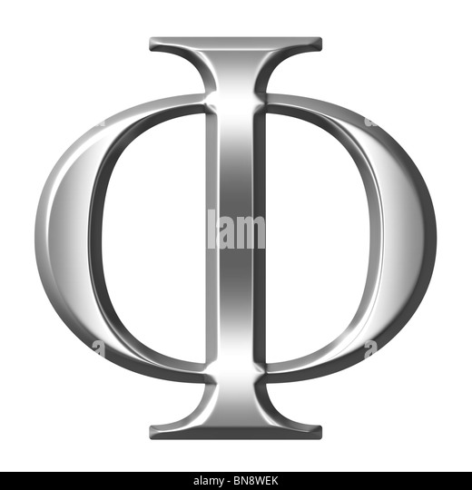 Greek Letter Phi Cut Out Stock & Alamy