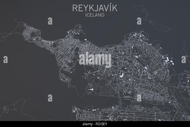 Reykjavik Map Photos and Reykjavik Map Images Alamy – Tourist Map Of Reykjavik