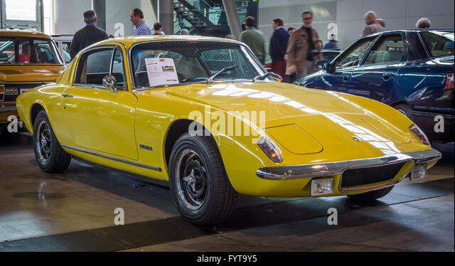 sports car lotus elan 2 rhd 1971 stock image