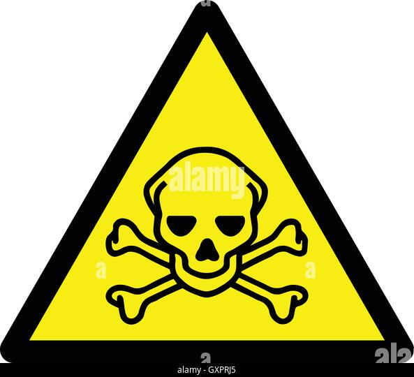 toxic sign and skulls - photo #24