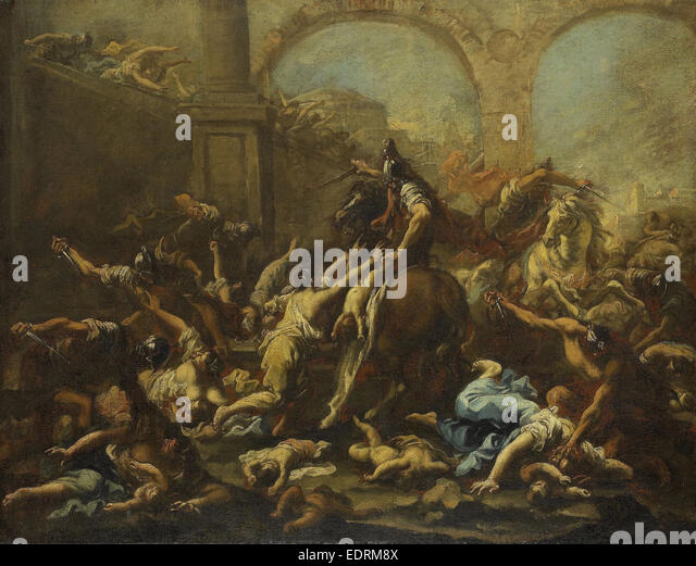 massacre of the innocents The traditional portrayals of joyous dancing scenes by certain 16th century  flemish painters are replaced here by a more sombre subject the massacre of  the.