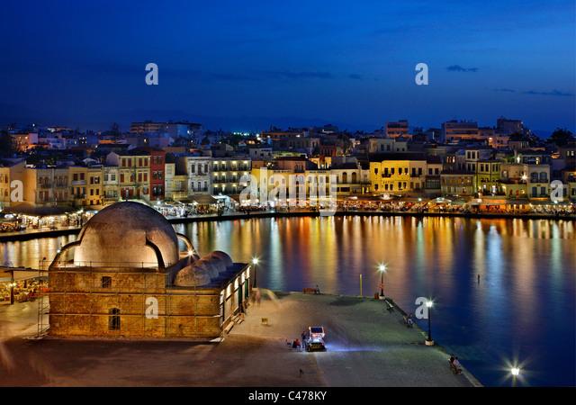 View Chania City Greek Island Stock Photos & View Chania ...