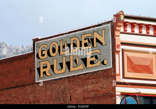 Golden Rule Architecture golden rule stock photos & golden rule stock images - alamy