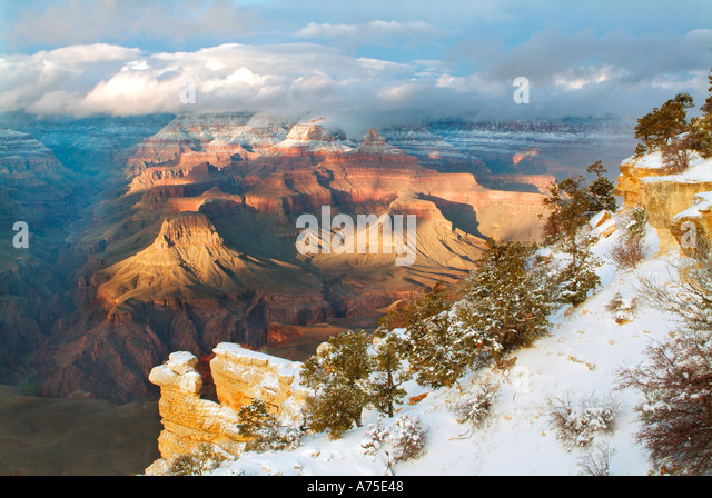 Grand canyon sunset stock photos grand canyon sunset for Landscaping rocks yuma az