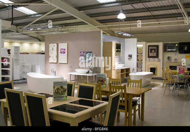 Diy store interior stock photos diy store interior stock for Department stores that sell furniture