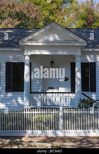 USA, Georgia, Columbus, The Pemberton House, former home of Dr. John Styth Pemberton, inventor of the formula for - Stock Image