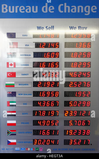 currency exchange board stock photos currency exchange board stock images alamy