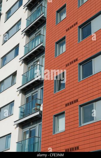 modern apartment building facade. apartment facade windows modern stock photos  Modern Apartment Building Facade Home Design Ideas
