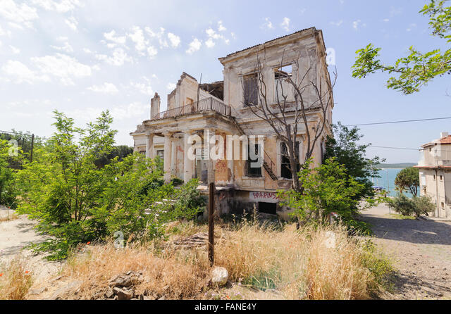 Greek Style House greek style house stock photos & greek style house stock images