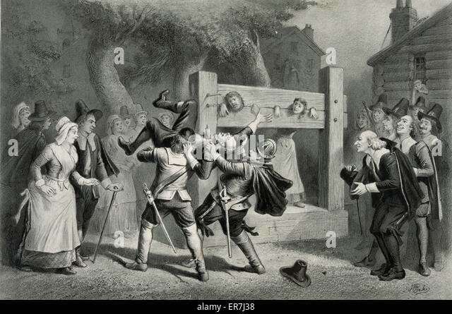 the illustration of the salem trials in the crucible The reception of arthur miller's new play, the crucible, offers an opportunity to   the salem witch trials represent how far the puritans were ready to go in taking   consider, for example, how the controversy over the hiss case reduced itself .