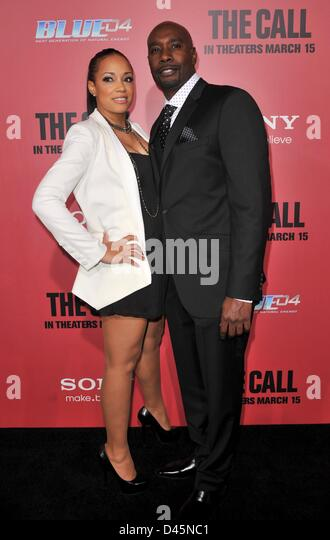 Morris Chestnut And Wife 2013