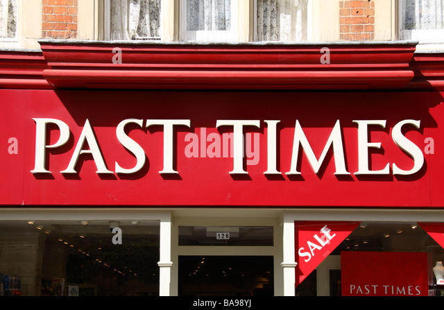 Past times shopping online