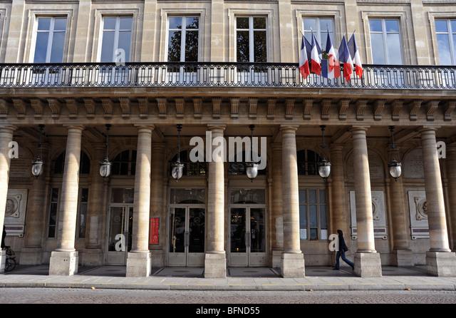 Place colette stock photos place colette stock images alamy - Comedie francaise salle richelieu ...