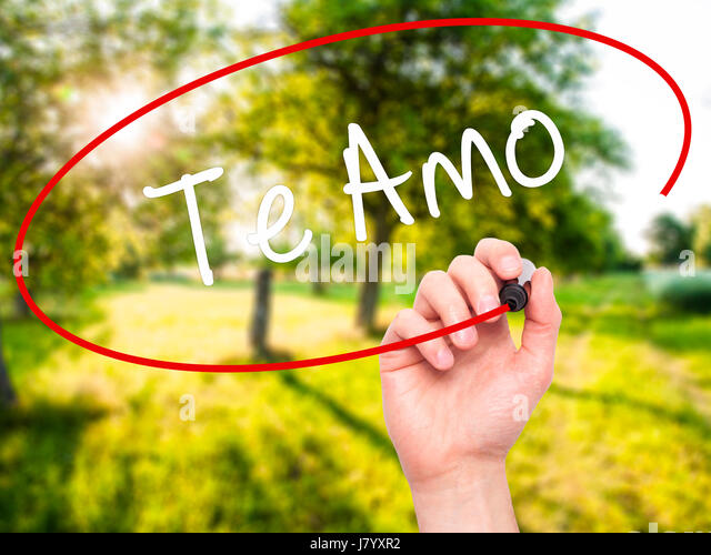 spanish word for i love you stock photos spanish word for i love