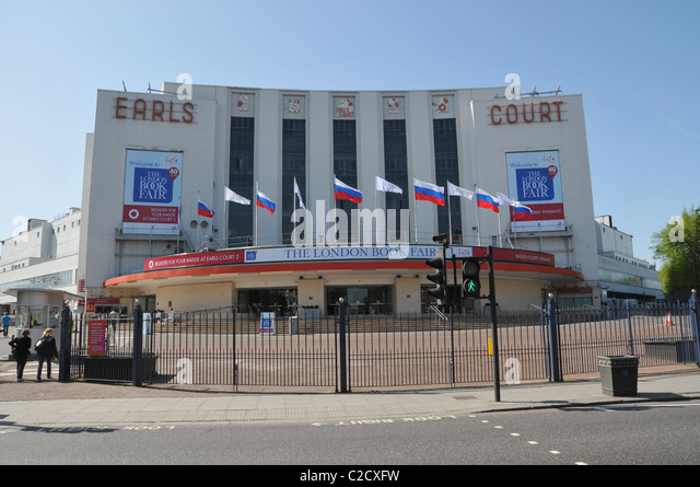 Earls Court Exhibition Stock Photos & Earls Court ...