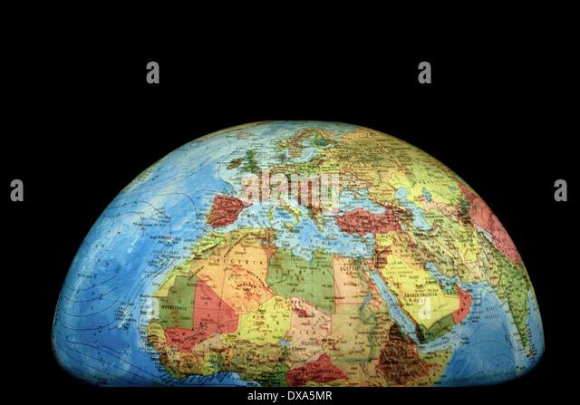 Northern hemisphere map stock photos northern hemisphere - Toy planet lanzarote ...