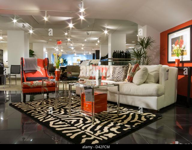 Bloomingdales Department Store Interior Nyc Stock Photos
