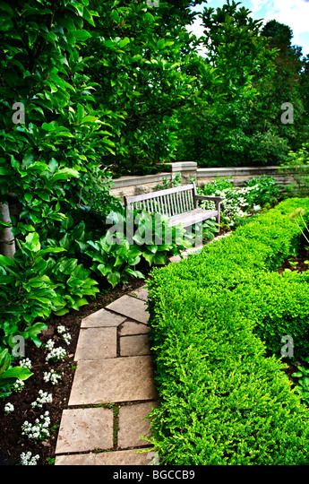 Landscaping And Hedges Stock Photos Amp Landscaping And