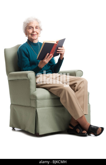 Arm chair cut out stock photos arm chair cut out stock for Sitting in armchair