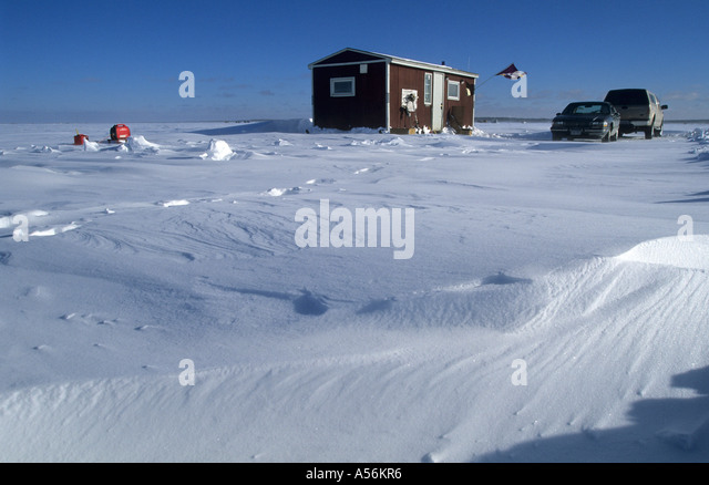 Mille lacs stock photos mille lacs stock images alamy for Mille lacs ice fishing