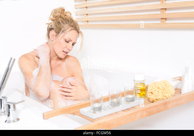 Necked Women For Bath