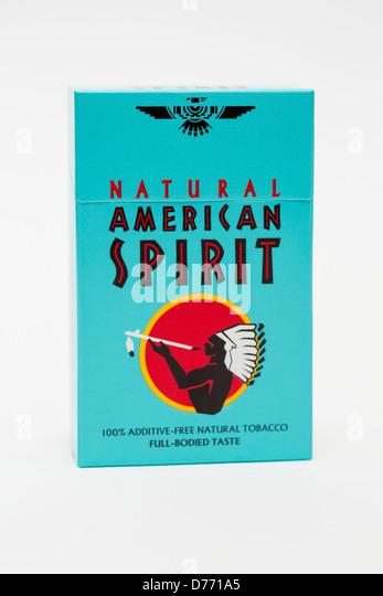 American Spirit Cigarette Stock Photos Amp American Spirit