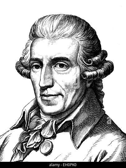 Digital Improved Image Of Joseph Haydn 1732