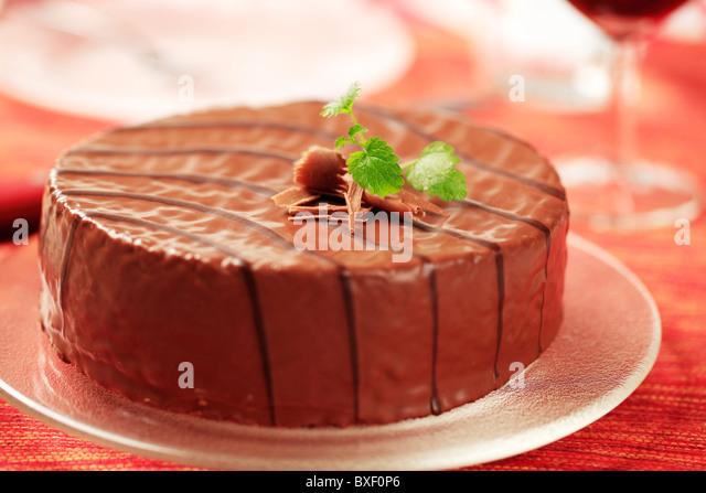 Mountain Pattern On Cake Icing