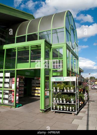 retail park construction stock photos retail park. Black Bedroom Furniture Sets. Home Design Ideas