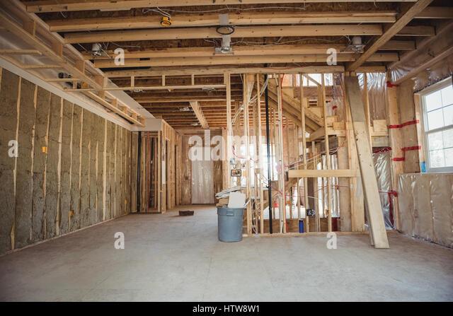 Interior Wood Construction Stock Photos & Interior Wood ...