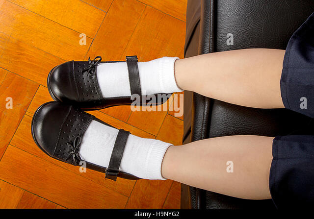 school white socks footjob