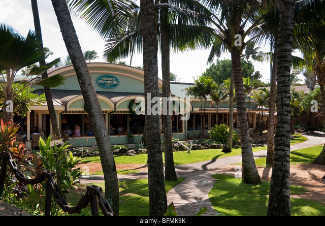 Fish house stock photos fish house stock images alamy for Fish house maui