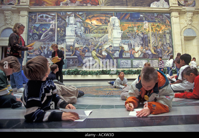 Diego rivera stock photos diego rivera stock images alamy for Diego rivera tenochtitlan mural