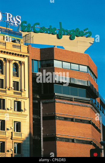 Corte ingles madrid stock photos corte ingles madrid for El corte ingles callao