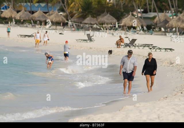 Eagle Beach Aruba Lesser Antilles Stock Photos & Eagle ...