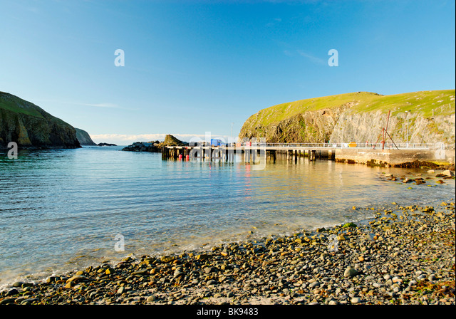 Harbour Of Fair Isle Stock Photos & Harbour Of Fair Isle Stock ...