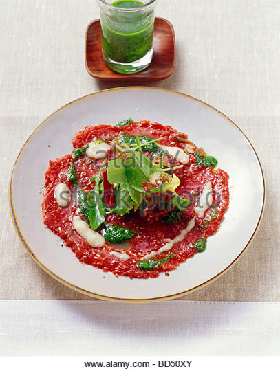 how to cut beef carpaccio